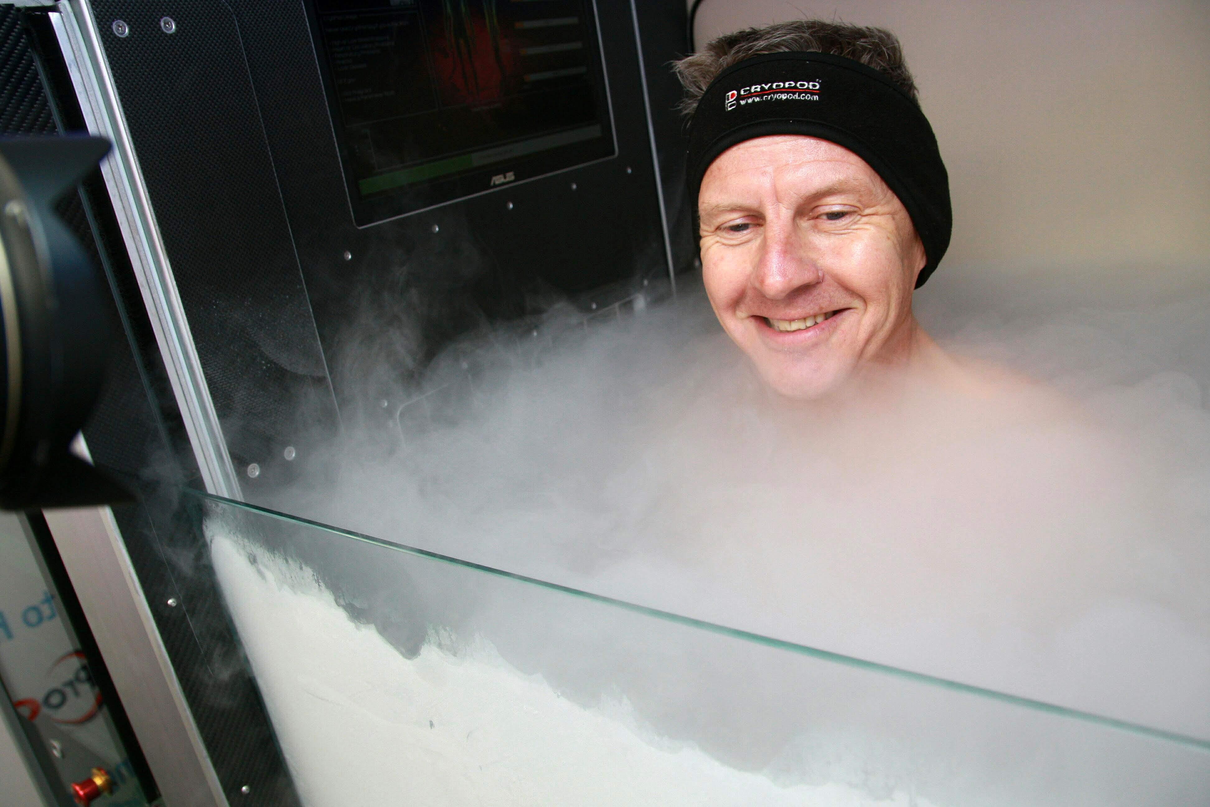 Steve inside the pod 3